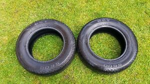 2 BCT  185/70/14 all season  tires in very good condition