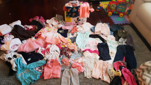 Large lot of girls clothes 9 months to 2 years