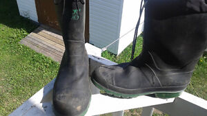 Insulated Steel toe Ruber Boots