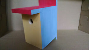 Make and Take: A Sturdy Birdhouse - June 24, 7-9pm