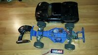 RC Trxxas Slash 2wd BRUSLESS MOTOR AND ESC with 2s lipo