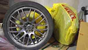 "MSR 18"" Rims 5x110 and 5x114.2 Perfect for Winter Tires"