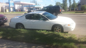 For sale  2004 Monte Carlo  1,500