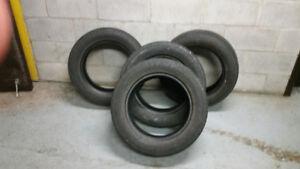 195 60 R15 Set of Bridgestone summer tires and 1 extrat tire.