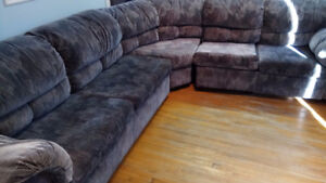 sofabed and recliner 3 pcs