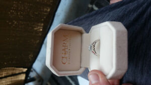 Engagement/promise ring from CHARM DIAMOND!!!