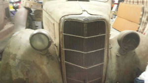 Restorable 1935 ford