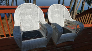 Wicker 3 piece Set
