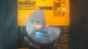 "Dewalt Blade General Purpose DW7658 12"" 48 Teeth Btand New Blade"