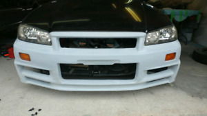 R34 Nissan Skyline GTT to GTR conversion kit