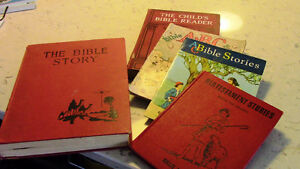 Five Vintage Bible-Related Books for Children Kitchener / Waterloo Kitchener Area image 1