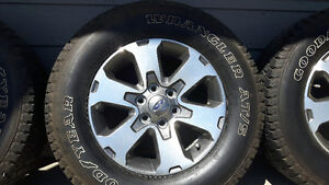 275/65R18 Goodyear Wangler AT/S M+S on FX4 Ford Rims