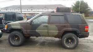 Lifted 1997 Jeep Grand Cherokee
