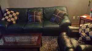 Entire living room !  Leather ! Can deliver !