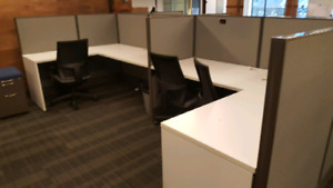 Work stations (cubicles)--MUST GO NOW!