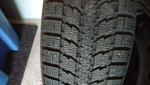 4 winter tires and rims 205 55 R16