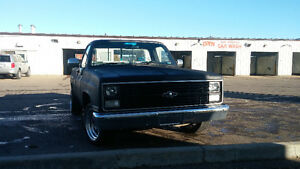 1986 Chevy c10 fresh 383 stroker