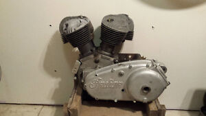 Parting out Indian scout engine
