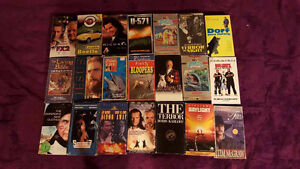 seling 150 vhs's