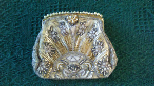 Vintage Micro-beaded Evening Bag
