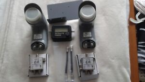 Bell Express Satellite System LNBS & extras.