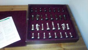Metal Chess Game