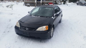 2002 Honda Civic SI  3200 certified or b/o as is mint cond