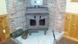 HIGH END WOOD STOVE