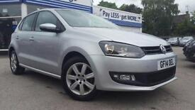 VW Polo MATCH EDITION 1.2 MANUAL 5 DOOR