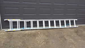 Gently used 24 foot ladder