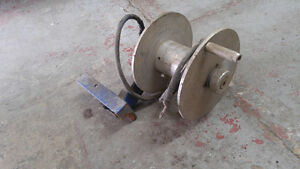 Aluminum welding cable reel for ground stinger