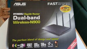 ASUS RT-N66U 802.11ac/n 4-Port Wireless Router