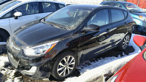 2016 Hyundai Accent SE , AUTOMATIQUE , 17 000 km , 9500 $