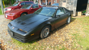 1989 trans am gta 350 v8 auto ttop with new tires