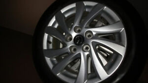 Like New 2016 Mazda Rims With 4 All-season Tires On Them, $575