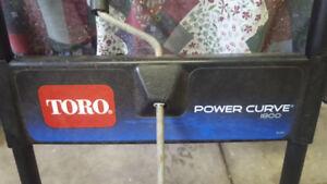 Snow Blower Toro Power Curve 1800 (Electric)