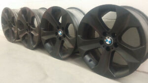 4 MAGS D'ORIGINE BMW STAGGERED 19po! TESLA X6 X5 LAND ROVER