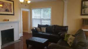 Furnished 3 Bedroom Apartment  available June 1st