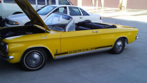 1963 Corvair Monza convertible parts car.
