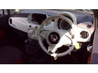2016 Fiat 500 1.2 Pop 3dr Manual Petrol Hatchback