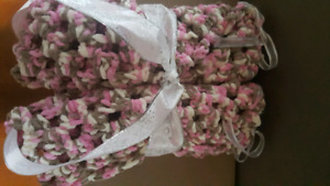 Crocheted Baby blankets any colour you choose.