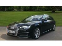 Audi A4 2.0 TDI 190 S Line 5dr S Troni Auto Estate Diesel Automatic