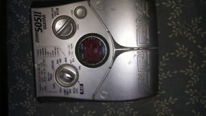 Zoom 505II Guitar effects pedal