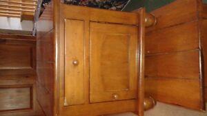 table de salon en pin rustique