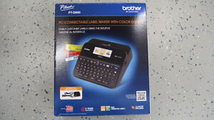 Brother PT-D600 PC-Connectable Label Maker - UNOPENED!