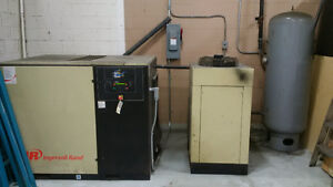 Ingersol Rand 50hp air compressor, dryer and tank 12,000.00 OBO