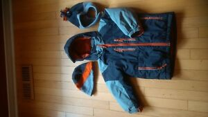 Boys 3 in 1 Winter Jacket with Snowpants