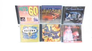 190 CDs IN VARIOUS GENRES & ARTISTS - 1 OWNER - EXCEL. COND.
