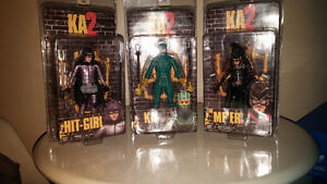 3 Brand new figures from movie Kick A$$