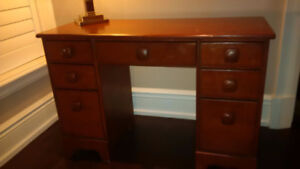 Imperial Loyalist Solid Maple Wood Desk Dressers filing cabinet